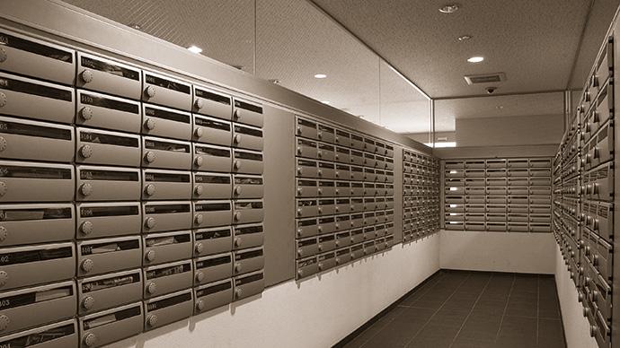 メールボックス ポスメイトスリム