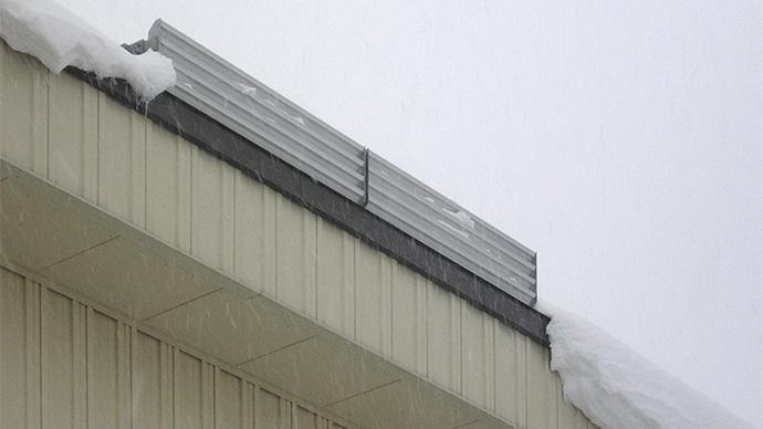 雪庇発生防止装置